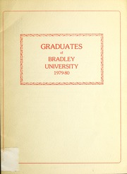 Page 1, 1980 Edition, Bradley University - Anaga Yearbook (Peoria, IL) online yearbook collection
