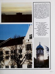 Page 11, 1984 Edition, Bradley University - Anaga Yearbook (Peoria, IL) online yearbook collection