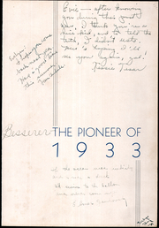 Page 5, 1933 Edition, Morton Junior College - Pioneer Yearbook (Cicero, IL) online yearbook collection