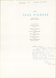 Page 5, 1940 Edition, Morton Junior College - Pioneer Yearbook (Cicero, IL) online yearbook collection