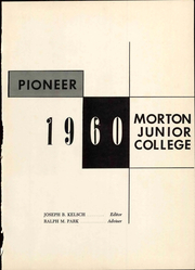 Page 7, 1960 Edition, Morton Junior College - Pioneer Yearbook (Cicero, IL) online yearbook collection