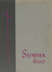 Academy of Our Lady / Spalding Institute - Summa Yearbook (Peoria, IL) online yearbook collection, 1960 Edition, Page 1