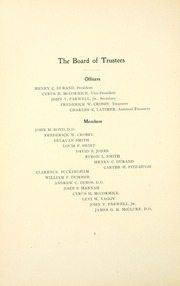 Page 14, 1902 Edition, Lake Forest College - Forester Yearbook (Lake Forest, IL) online yearbook collection