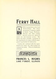 Page 274, 1907 Edition, Lake Forest College - Forester Yearbook (Lake Forest, IL) online yearbook collection
