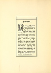 Page 12, 1909 Edition, Lake Forest College - Forester Yearbook (Lake Forest, IL) online yearbook collection