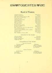 Page 12, 1914 Edition, Lake Forest College - Forester Yearbook (Lake Forest, IL) online yearbook collection