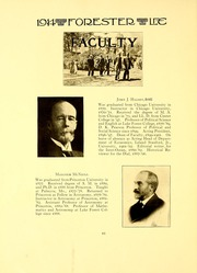 Page 14, 1914 Edition, Lake Forest College - Forester Yearbook (Lake Forest, IL) online yearbook collection
