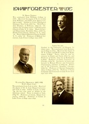 Page 15, 1914 Edition, Lake Forest College - Forester Yearbook (Lake Forest, IL) online yearbook collection