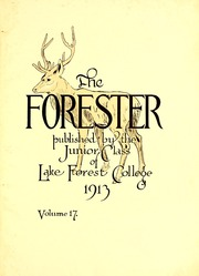 Page 7, 1914 Edition, Lake Forest College - Forester Yearbook (Lake Forest, IL) online yearbook collection