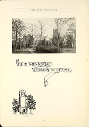 Page 12, 1916 Edition, Lake Forest College - Forester Yearbook (Lake Forest, IL) online yearbook collection
