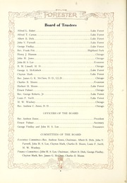 Page 12, 1921 Edition, Lake Forest College - Forester Yearbook (Lake Forest, IL) online yearbook collection