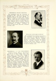 Page 15, 1921 Edition, Lake Forest College - Forester Yearbook (Lake Forest, IL) online yearbook collection