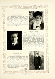 Page 17, 1921 Edition, Lake Forest College - Forester Yearbook (Lake Forest, IL) online yearbook collection