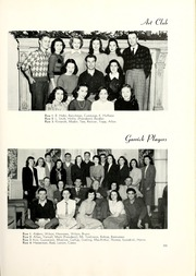 Page 105, 1948 Edition, Lake Forest College - Forester Yearbook (Lake Forest, IL) online yearbook collection