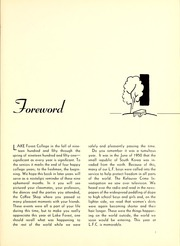 Page 9, 1951 Edition, Lake Forest College - Forester Yearbook (Lake Forest, IL) online yearbook collection