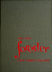 Lake Forest College - Forester Yearbook (Lake Forest, IL) online yearbook collection, 1953 Edition, Page 1