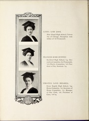 Page 16, 1909 Edition, Rockford College - Recensio / Cupola Yearbook (Rockford, IL) online yearbook collection