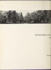 Page 8, 1909 Edition, Rockford College - Recensio / Cupola Yearbook (Rockford, IL) online yearbook collection