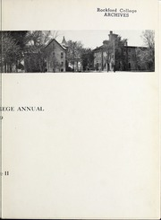 Page 9, 1909 Edition, Rockford College - Recensio / Cupola Yearbook (Rockford, IL) online yearbook collection