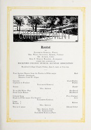 Page 17, 1918 Edition, Rockford College - Recensio Yearbook (Rockford, IL) online yearbook collection