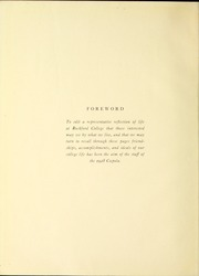 Page 6, 1928 Edition, Rockford College - Recensio Yearbook (Rockford, IL) online yearbook collection