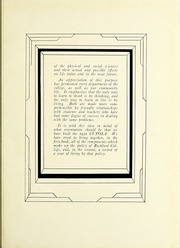 Page 11, 1931 Edition, Rockford College - Recensio Yearbook (Rockford, IL) online yearbook collection