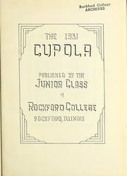 Page 7, 1931 Edition, Rockford College - Recensio Yearbook (Rockford, IL) online yearbook collection