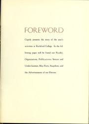 Page 11, 1940 Edition, Rockford College - Recensio / Cupola Yearbook (Rockford, IL) online yearbook collection