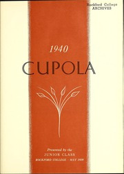 Page 7, 1940 Edition, Rockford College - Recensio / Cupola Yearbook (Rockford, IL) online yearbook collection