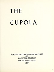 Page 5, 1953 Edition, Rockford College - Recensio Yearbook (Rockford, IL) online yearbook collection
