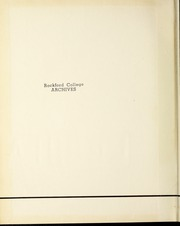 Page 2, 1955 Edition, Rockford College - Recensio Yearbook (Rockford, IL) online yearbook collection
