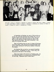 Page 17, 1958 Edition, Rockford College - Recensio Yearbook (Rockford, IL) online yearbook collection