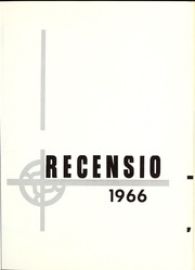 Page 5, 1966 Edition, Rockford College - Recensio / Cupola Yearbook (Rockford, IL) online yearbook collection
