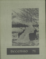 1971 Edition, Rockford College - Recensio Yearbook (Rockford, IL)
