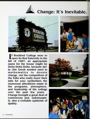 Page 6, 1987 Edition, Rockford College - Recensio Yearbook (Rockford, IL) online yearbook collection