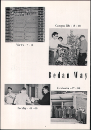 Page 10, 1958 Edition, Saint Bede Academy - Via Baeda Yearbook (Peru, IL) online yearbook collection