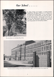 Page 14, 1958 Edition, Saint Bede Academy - Via Baeda Yearbook (Peru, IL) online yearbook collection