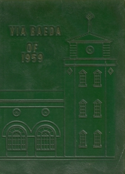 Page 1, 1959 Edition, Saint Bede Academy - Via Baeda Yearbook (Peru, IL) online yearbook collection
