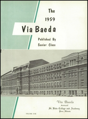 Page 5, 1959 Edition, Saint Bede Academy - Via Baeda Yearbook (Peru, IL) online yearbook collection