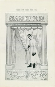 Page 17, 1911 Edition, Vermont High School - Comet Yearbook (Vermont, IL) online yearbook collection