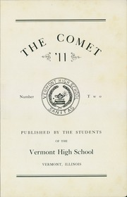 Page 5, 1911 Edition, Vermont High School - Comet Yearbook (Vermont, IL) online yearbook collection