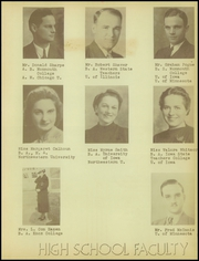 Page 11, 1938 Edition, Oneida Community High School - Mohawk Yearbook (Oneida, IL) online yearbook collection