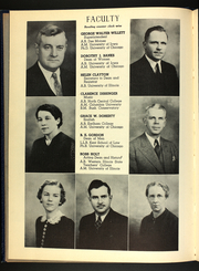 Page 12, 1937 Edition, Lyons Township Junior College - Tower Yearbook (La Grange, IL) online yearbook collection