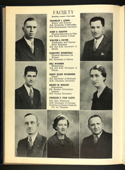 Page 14, 1937 Edition, Lyons Township Junior College - Tower Yearbook (La Grange, IL) online yearbook collection