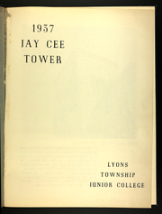 Page 5, 1937 Edition, Lyons Township Junior College - Tower Yearbook (La Grange, IL) online yearbook collection