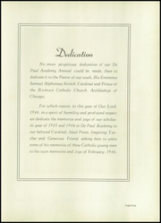 Page 9, 1946 Edition, DePaul Academy - Annual Yearbook (Chicago, IL) online yearbook collection