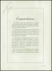 Page 13, 1948 Edition, DePaul Academy - Annual Yearbook (Chicago, IL) online yearbook collection