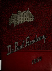 DePaul Academy - Annual Yearbook (Chicago, IL) online yearbook collection, 1954 Edition, Page 1