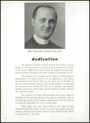 Page 12, 1955 Edition, DePaul Academy - Annual Yearbook (Chicago, IL) online yearbook collection