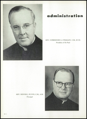 Page 14, 1955 Edition, DePaul Academy - Annual Yearbook (Chicago, IL) online yearbook collection